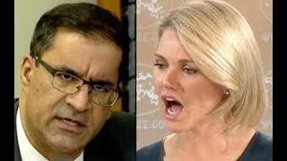 Heather Nauert Gets Pissed At Terrorist Sympathizing Reporter!