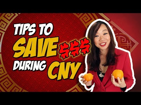 Tips To Save Money During CNY