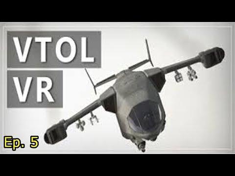VTOL VR: Darkness (Mission 6)