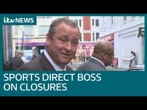 Sports Direct Boss Says Store Closure Will Be