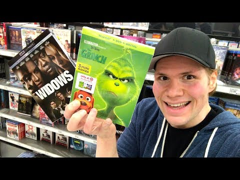 Blu-ray / Dvd Tuesday Shopping 2/5/19 : My Blu-ray Collection Series