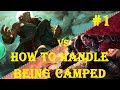 SEE HOW A CHALLENGER HANDLES BEING CAMPED TOP | Illaoi vs Darius 1 | NA Challenger