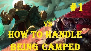 SEE HOW A CHALLENGER HANDLES BEING CAMPED TOP   Illaoi vs Darius 1   NA Challenger