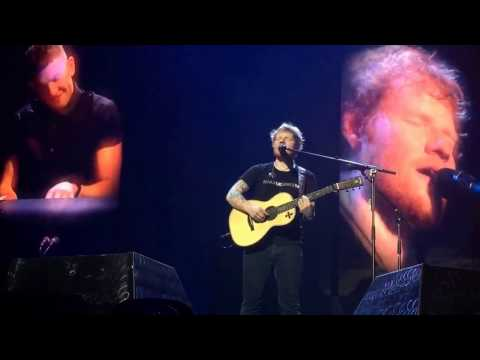 First Live Performance Of Save Myself - Ed Sheeran Glasgow 4/16/17