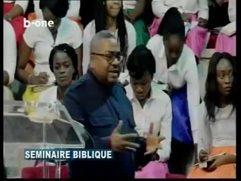 Seminaire biblique eglise la borne pasteur Joseph BONDO