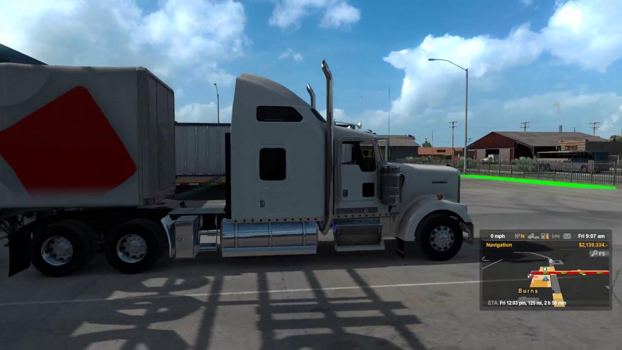 American Truck Simulator's Oregon is looking lovely | Rock
