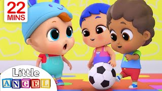 Playtime with Friends | Little Angel Nursery Rhymes and Kids...