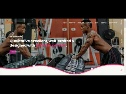 Website Designing For Gym Equipment Manufacturing Company
