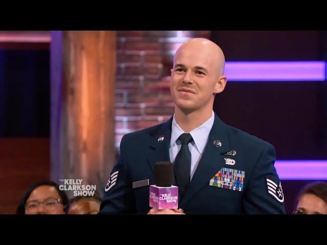 Corban Cold Lundborg Kelly Clarkson Show segment