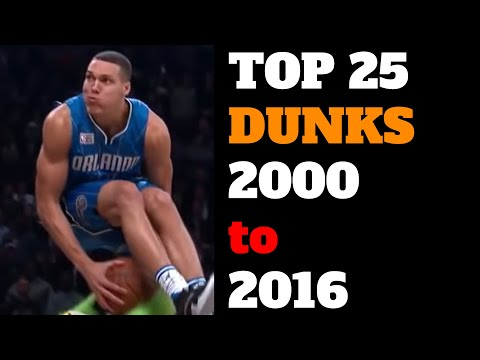 Top 25 NBA Slam Dunk Contest Dunks of All Time (2000-2016) HD Best List