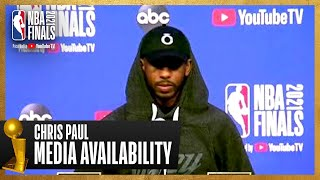Chris Paul #NBAFinals Media Availability   July 10th, 2021