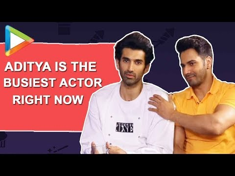 Aditya's EROTIC Art, loves EROTIC Books | Varun Dhawan Leaves No Chance to Tease him | Kalank | Alia