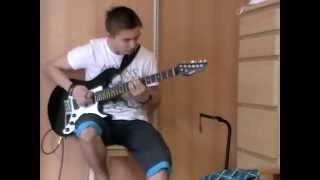 Iron Fire - March Of The Immortals (cover guitar)