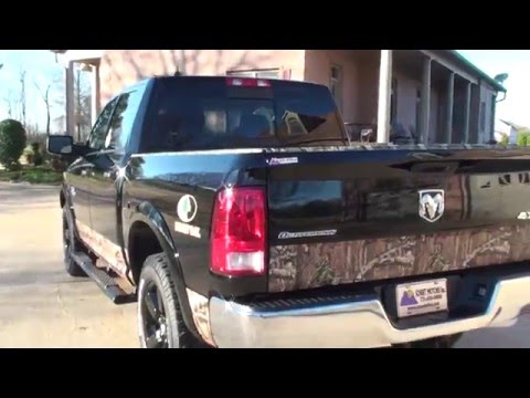 HD VIDEO DODGE RAM 1500 CREW CAB HEMI OUTDOORSMAN MOSSY OAK 4X4 FOR SALE SEE WWW SUNSETMOTORS COM
