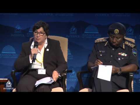 INTERPOL General Assembly Environmental Crime Panel  - Kigali 2015