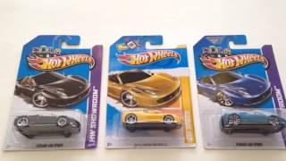 Unboxing Ferrari 458 Spider Hotwheels