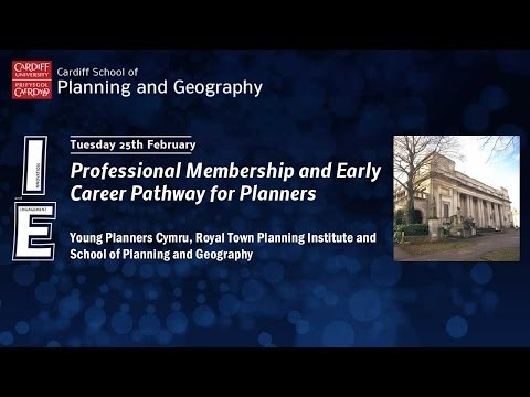 Professional Membership and Early Career Pathway for Planners