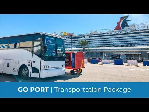 $14 99 Cruise Shuttle: Orlando Airport to Port Canaveral