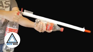 Air Gun From Coca Cola | DIY