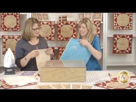 Learn Embroidery Line Tracing Tips from Moda Fabrics Designer Kathy Schmitz - Shabby Fabrics