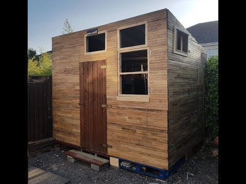 DIY , Szopka Z Palet Cz.1 / Pallet Shed Build Part 1