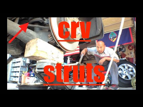 COMPLETE Rear Strut Shock Replacement '07-11 Honda CRV √ Fix it Angel