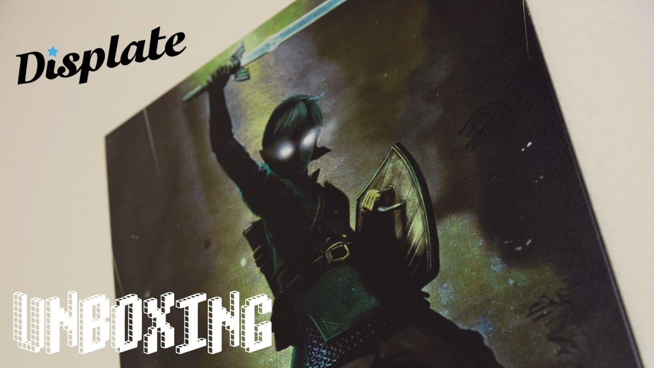 Displate - Poster aus Metall - Unboxing