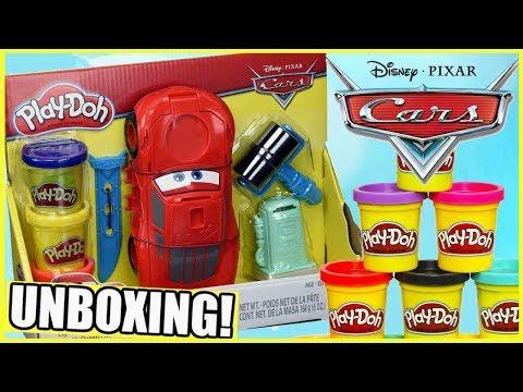 Play Doh 👻 Disney • Cars 3 • Auta 3 🚘 Zygzak McQueen 🚗 C1043