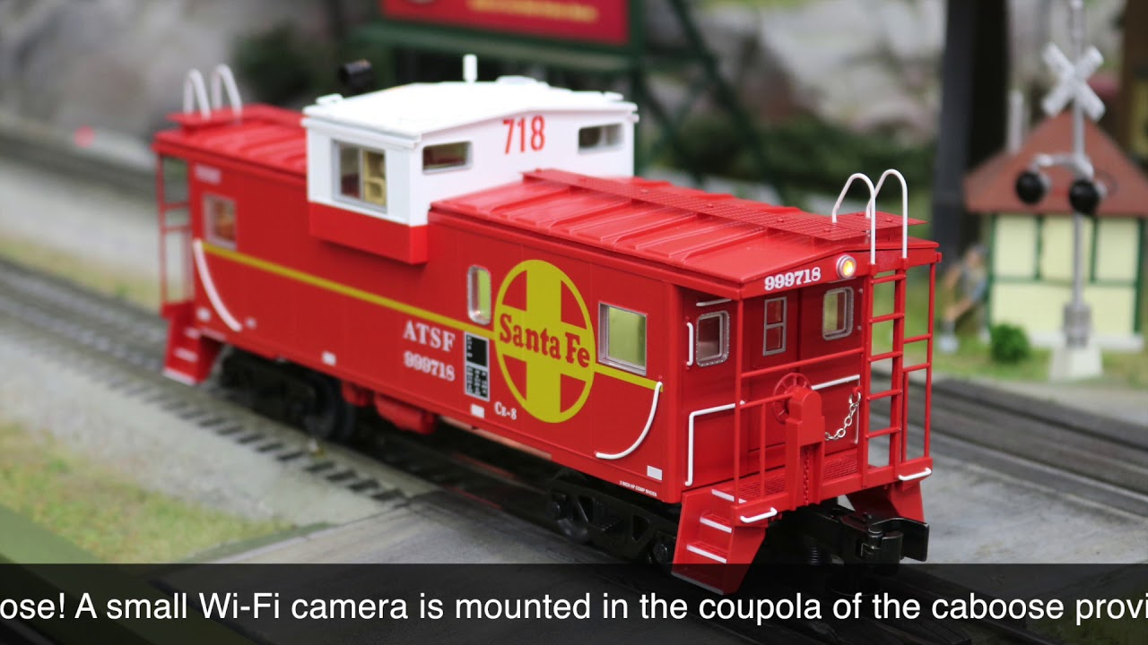 Lionel #6-85071 Santa Fe Wide Vision Caboose With Camera