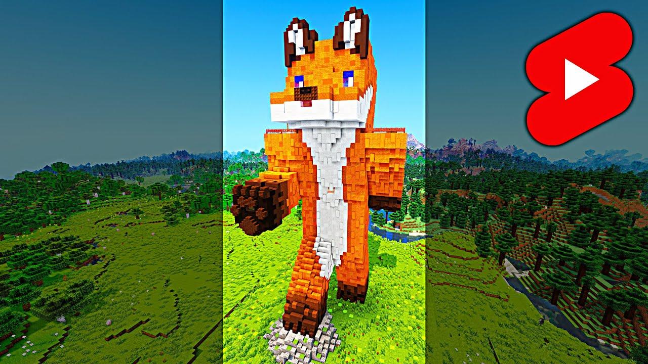 Minecraft Skin Statue - Timelapse #Shorts