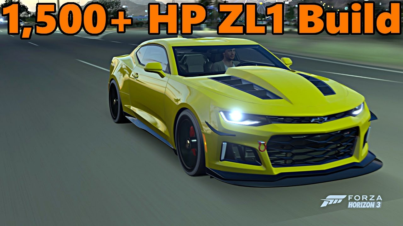 Forza Horizon 3 1 500 Hp 2017 Camaro Zl1 Full Build