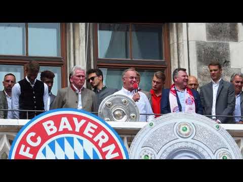 Karl-Heinz Rummenigge über Jupp Heynckes @FC Bayern München Meisterfeier 2018