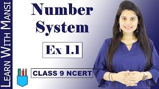 Class 9 Maths | Chapter 1 | Exercise 1.1 | Number System | NCERT screenshot 1