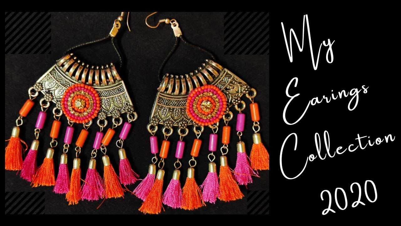 My Earings Collection 2020 | Makeover With Sayani