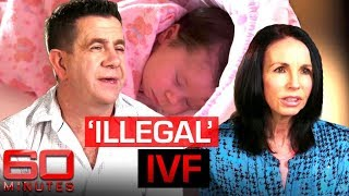 Desperate parents buying donor eggs on the black market | 60 Minutes Australia