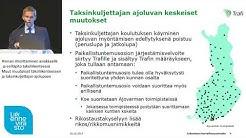 Liikennepalvelulain sidosryhmätilaisuus - Taksihinnan ilmoittaminen asiakkaalle ja esilläpito