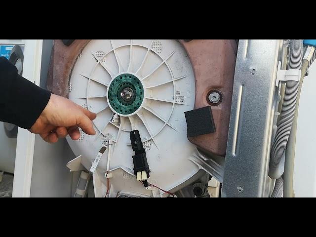 Zanussi Electrolux AEG felültöltős mosógép csapágyazás