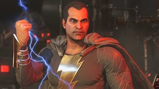 Injustice 2: Black Adam Vs All Characters | All Intro/Interaction Dialogues & Clash Quotes