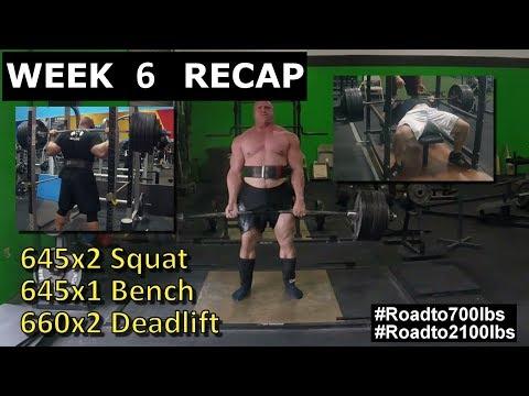 James Strickland - Full Power Training (Road to 2100 lbs - Week 6 Recap)