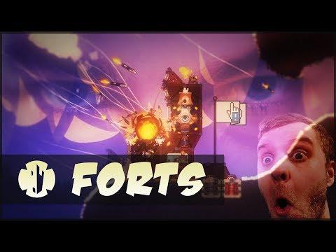FORTS - Tons of guns - 4 vs 4 destructif