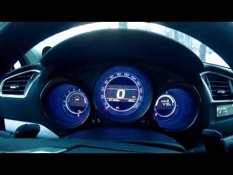 """C4 Sedan запуск в мороз """"севшего"""" аккумулятора при помощи jumpstarter"""