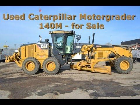 Cat 140m for sale caterpillar 140m road grader motor for Used motor graders for sale