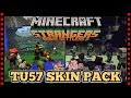 MINECRAFT TU57 NEW SKIN PACK - STRANGERS BIOME SETTLERS 3 (Minecraft Console)
