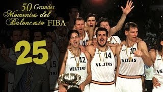 50 Grandes Momentos Basket FIBA: #25