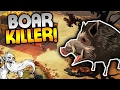 """The Flame In The Flood Gameplay - """"STONE COLD BOAR KILLER!!!""""  - Let's Play Part 2"""