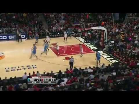 NBA November 3 2012: New Orleans Hornets vs Chicago Bulls Highlights
