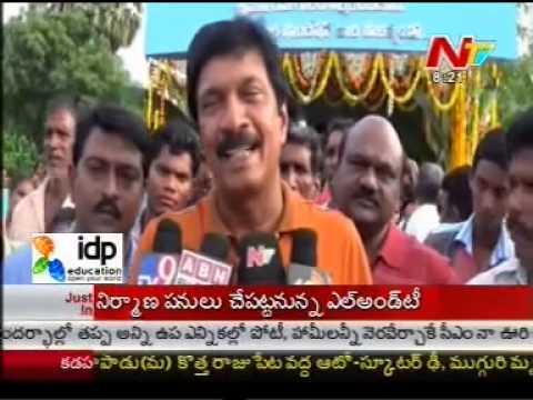 MEIL Chairman Launch Drinking Water Pumps in kakinada - Part02