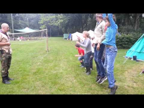 2013 Zomerkamp Scouts Foute Ochtengymnastiek