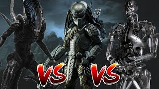 Alien VS Predator VS Terminator | BATTLE ARENA