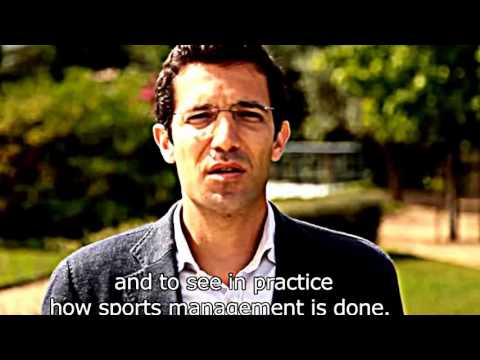 MBA in Sports Management (Real Madrid Graduate School)